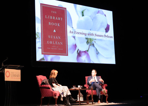 Author Susan Orlean on her book and the important role libraries played in her life